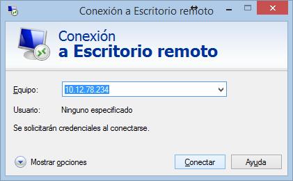 Escritorio remoto con windows 10 8 8 1 con usuario for Conexion escritorio remoto windows 8