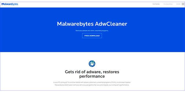 malware adwcleaner para eliminar el Spyware