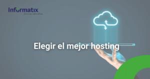 Elegir el mejor hosting