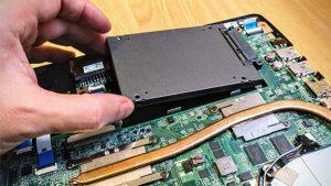 Cambiar Disco Portátil SSD